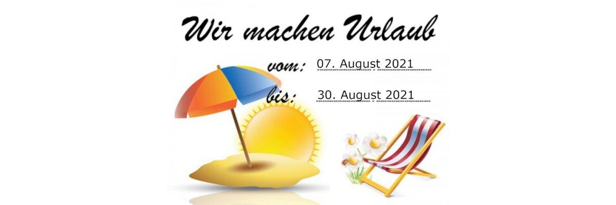 Wir machen Urlaub! -