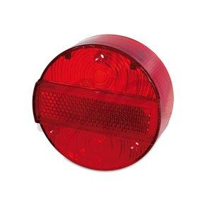 Rücklichtkappe rot 3 Schrauben Ø120 mit KZB**  S51, S70, KR51/2, SR50, SR80*