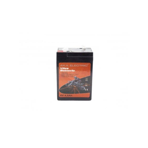 Batterie (Vlies - wartungsfrei) 6V 4,5 Ah