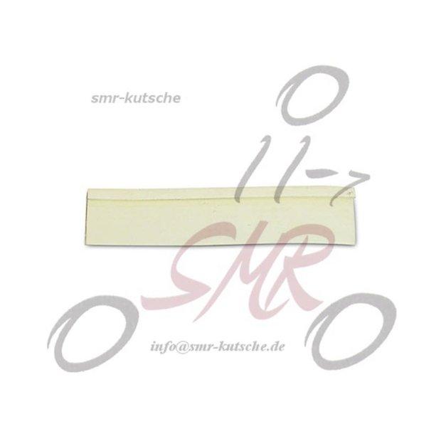 Gummi - Keder für Lenkerabdeckung elfenbein KR, SR4-2, SR4-4