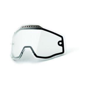 Ersatzglas 100% Dual Vented klar