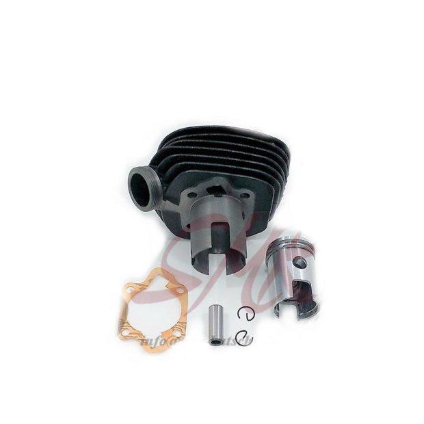 Zylinder mit Kolben für Simson KR50, SR2, SR2E, SR1 (Einlass 23mm breit + 12mm hoch) neu