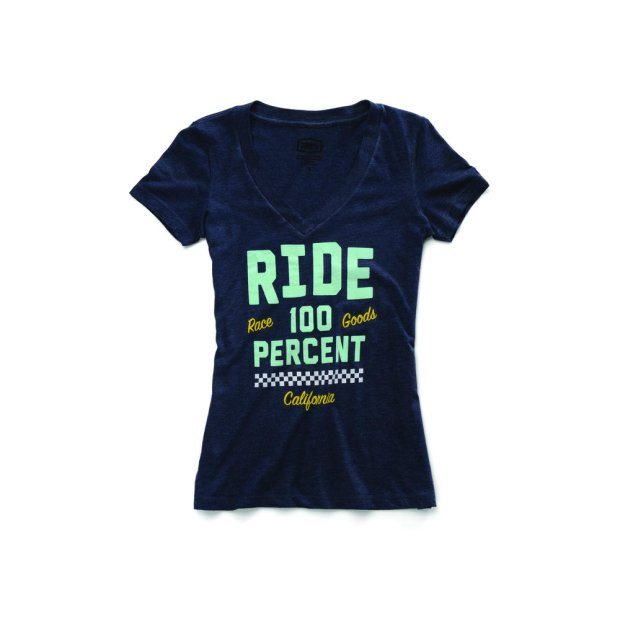 Shirt Frauen 100% Tracker navy heather