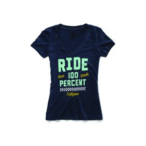 Shirt Frauen 100% Tracker navy heather