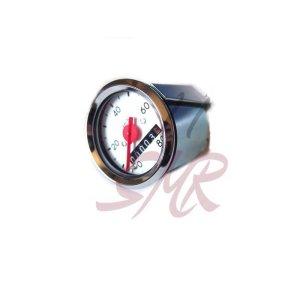 Tachometer - Ø48mm - weißes Ziffernblatt - Schwalbe KR51, SR4-2, SR4-3, SR4-4 (80km/h-Ausführung)