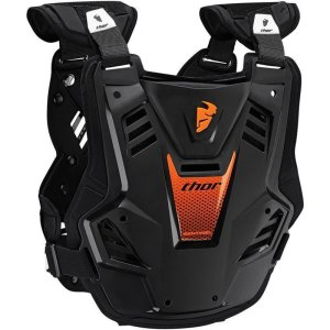 Brustpanzer Thor Sentinel GP schwarz/orange