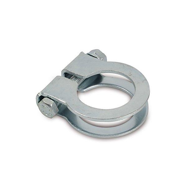 Klemmschelle Ø32mm, chrom - SPORT - zur Verbindung Krümmer-Auspuff - S51, SR50, KR51/2, S70