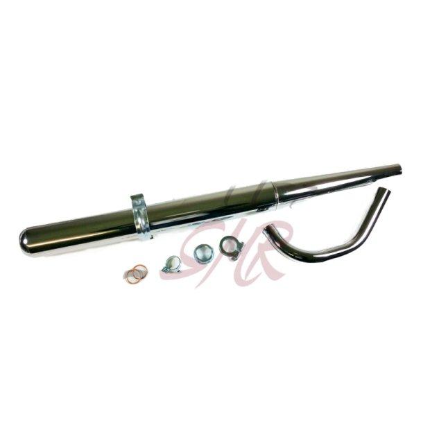 Auspuff Tuning Komlpettset S51 32mm  mit Krümmer und Anbauteilen