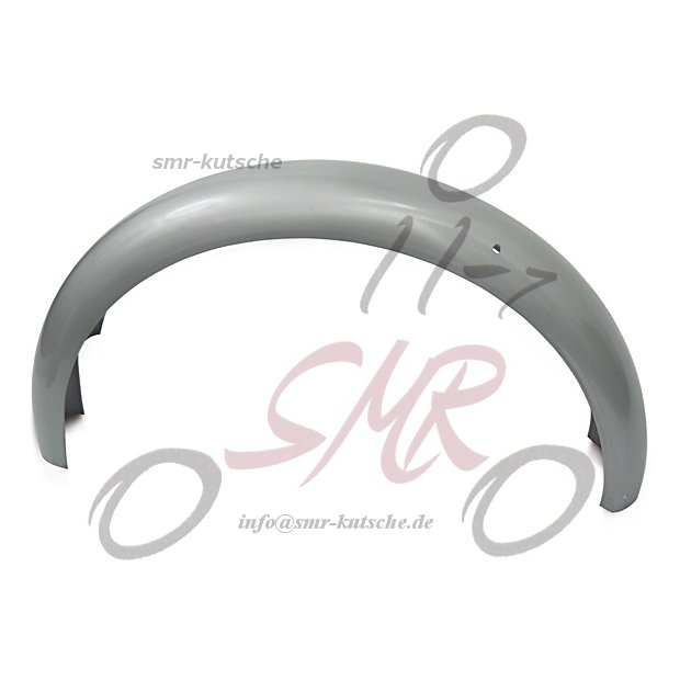 Kotflügel hinten - silbergrau pulverbeschichtet - S50, S51, S70
