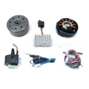 Lichtmagnetzündanlage 12V 180W mit integrierter vollelektronischer Zündung, passend für ES175/250/300, ETS250, TS250