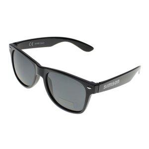 Simson Sonnenbrille m. Kunststoffgestell schwarz