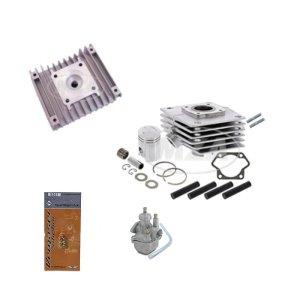 Zylinderset Almot mit Kopf-Deutsche Fertigung und 19N1-11+Düsen S61, 60ccm