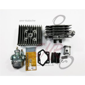 Zylinderset Almot mit Kopf-Deutsche Fertigung und 19N1-11+Düsen S70, 70ccm