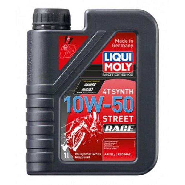 Motorbike Liqui Moly 4T Synth 10W-50 Street Race 1l