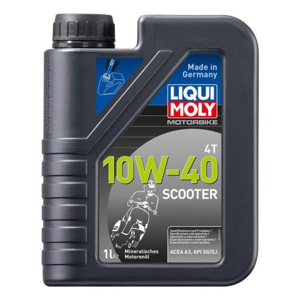 Motorbike Liqui Moly 4T 10W-40 Scooter 1l