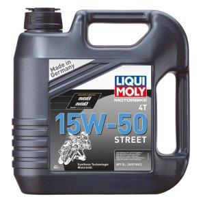 Motorbike Liqui Moly 4T 15W-50 Street 4l