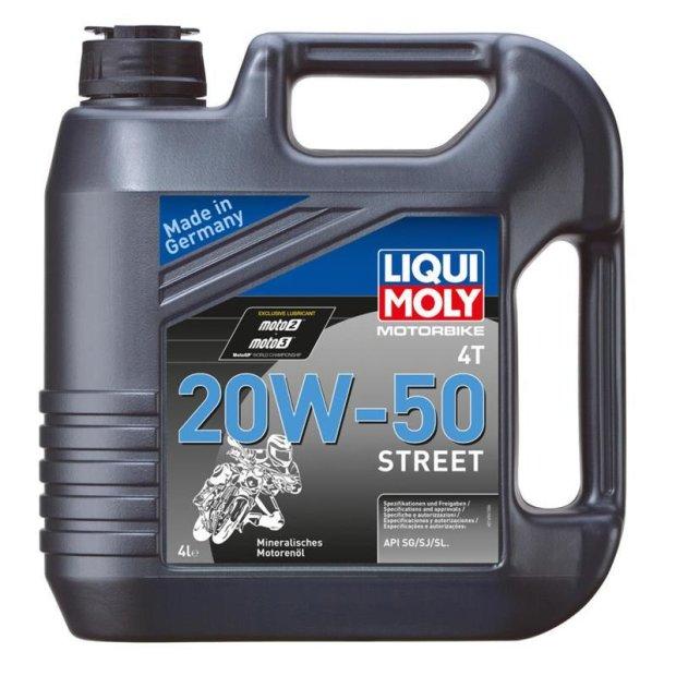 Motorbike Liqui Moly 4T 20W-50 Street 4l