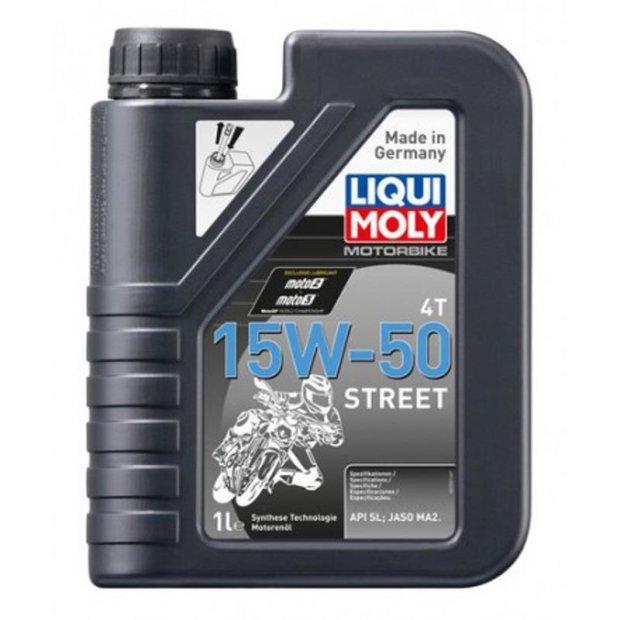 Motorbike Liqui Moly 4T 15W-50 Street 1l