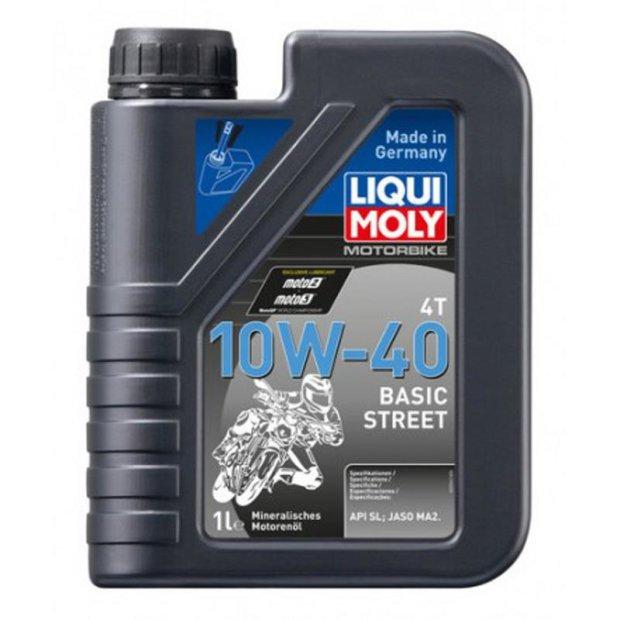 Motorbike Liqui Moly 4T 10W-40 Basic Street 1l