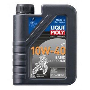 Motorbike Liqui Moly 4T 10W-40 Basic Offroad 1l