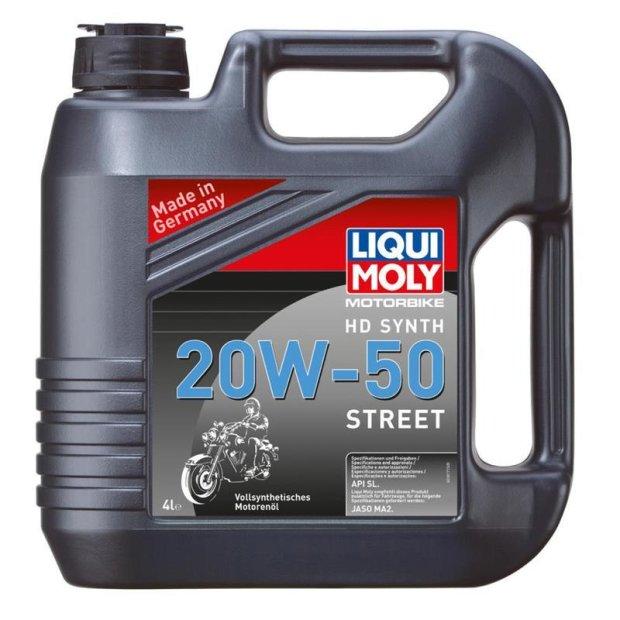 Motorbike Liqui Moly 4T HD Synth 20W-50 Street 20l