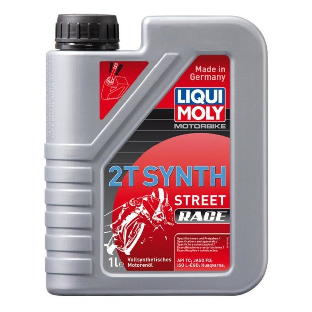 Motorbike Liqui Moly 2T Synth Street Race 20l