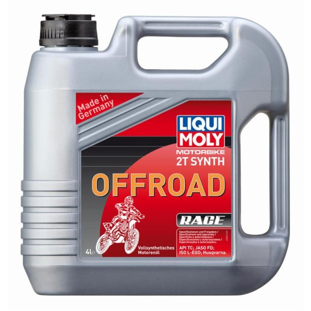 Motorbike Liqui Moly 2T Synth Offroad Race 4l