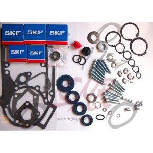 SET SKF Lager, WDR, Dichtung, Verschlussstopfen, Sicherungsteile und Motor Schraubensatz S51, S53, S70, S83, SR50, SR80, KR51/2