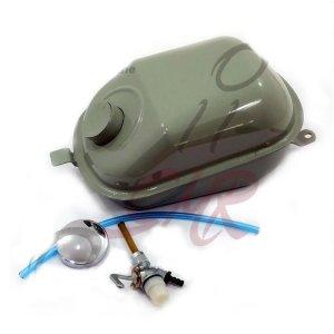 Tankset Schwalbe mit Benzinhahn im Original DDR Design