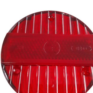 Rücklichtkappe rot 3 Schrauben Ø120 S51, S70, KR51/2, SR50, SR80 Original DDR