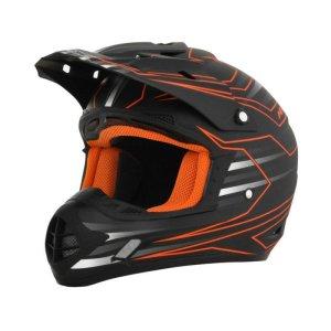 AFX Helm FX-17 schwarz/orange