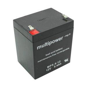 Batterie (wartungsfrei) 12V 5,4 Ah