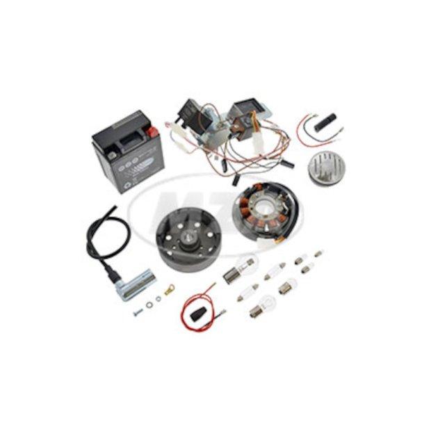 Umrüstsatz VAPE (M-G-V) - Schwalbe KR51/1, KR51/2  (Hupe ist 6 & 12Volt geeignet, muss evtl. eingestellt werden)