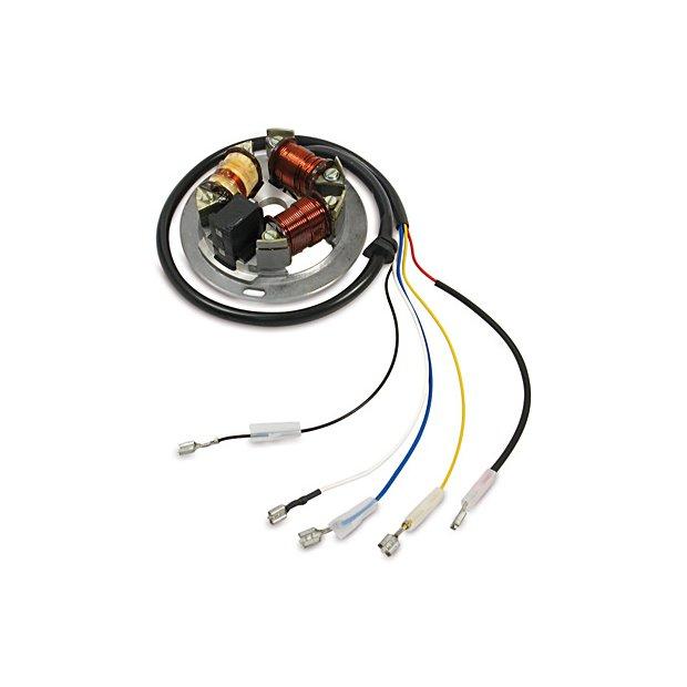 Grundplatte 8305.1/1-100 6V 35/21W elektronik - S51B2, KR51/2