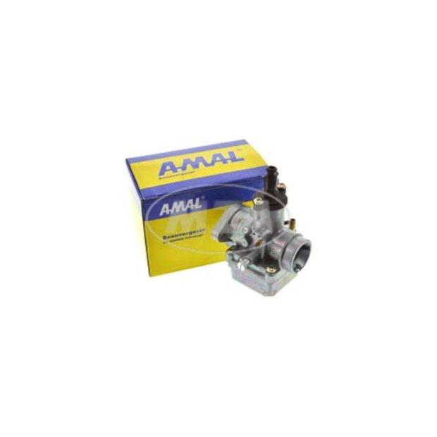 Rennvergaser, original AMAL 19,00mm, mit Produktheft Technik / Betriebsanleitung  !!  (SIMSON-Flansch, verstärkt)