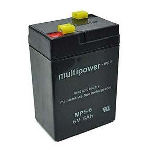 Batterie (Vlies - wartungsfrei) 6V 5 Ah