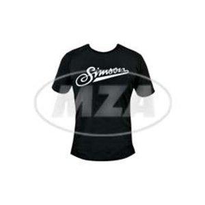 T-Shirt schwarz Simson Schriftzug - 100% Baumwolle