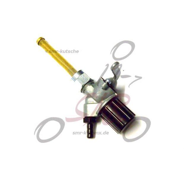 Kraftstoffhahn EHR (Benzinhahn), für S51, S70, ES, TS, ETZ-Modelle - Stutzen ca. Ø6,5mm.