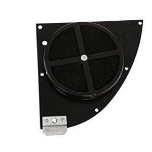 FILU Tuningluftfilter mit Bulpren Doppel-Filtermatten S50, S51, S53, S70, S83 - schwarz