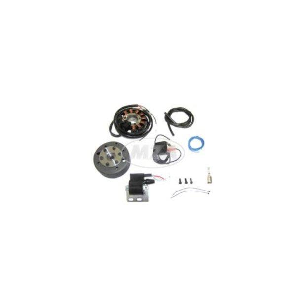 Lichtmagnetzündanlage 12V 70W mit integrierter vollelektronischer Zündung für Simson SR1, SR2, SR2E, KR50
