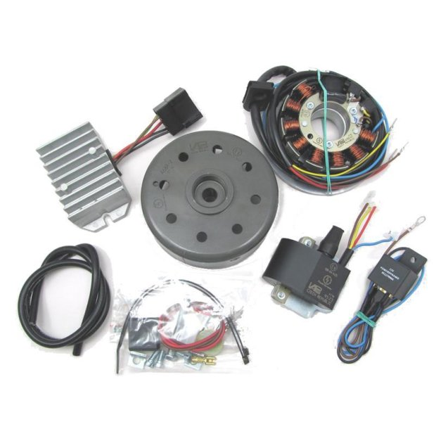Lichtmagnetzündanlage 12V 180W mit integrierter vollelektronischer Zündung für ETZ125, ETZ150