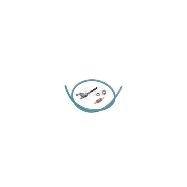 Benzinhahn Set - (Kraftstoffhahn) - Hahn, Schlauch, Filter - S50, S51, S53, S70, S83