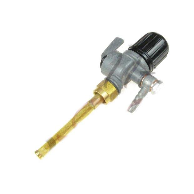 Kraftstofffilterhahn EHR, mit Winkelanschluss und Außengewinde, RT125, BK350, pass. für AWO 425T, 425S, R35