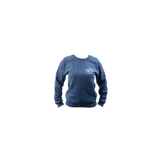 Sweatshirt navyblau - mit Reflexdruck silber SIMSON-Logo