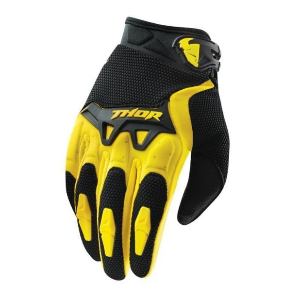 Handschuhe Thor Spectrum S15 gelb