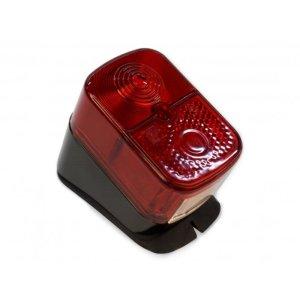 Rücklicht, roter Lichtaustritt - Gehäuse schwarz - KR51/1, SR4-1, SR4-2, SR4-3, SR4-4