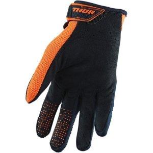 Handschuhe Kinder Thor Spectrum schwarz/orange