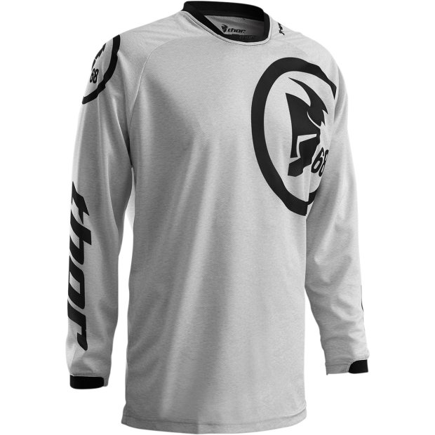 Thor Phase Gasket Jersey grau/schwarz Gr. S