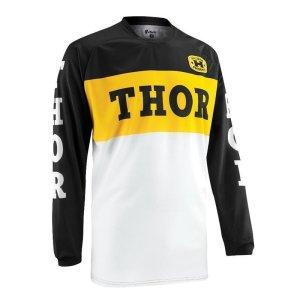 Jersey Thor Phase Pro-GP schwarz/gelb Gr. S