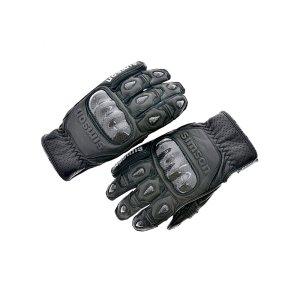 Simson Motorradhandschuhe, schwarz, Motiv: SIMSON